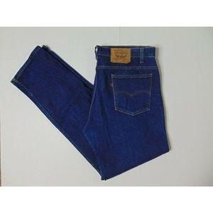Vintage Levi's 505 40 X 34 Blue Jeans Straight